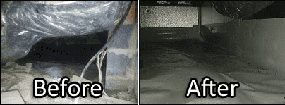 Before & After Insulation